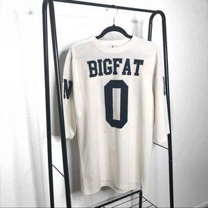 UNIF Big Fat Zero Oversized Jersey Top